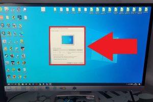 configuración protector pantalla windows 10.