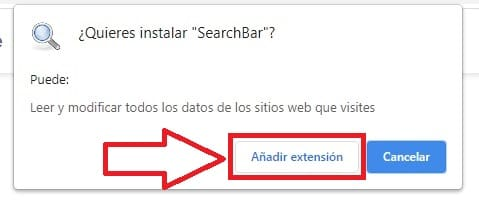 download the extension search box.