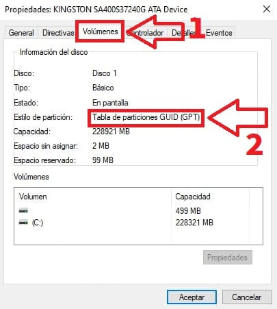 how to know if my disk is in gpt or mbr