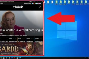 descarga app mitele win 10.