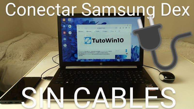 como usar samsung dex vía Wifi.