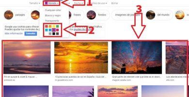 buscar imagenes por color