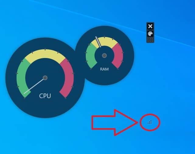 agigantar widget launcher cpu.