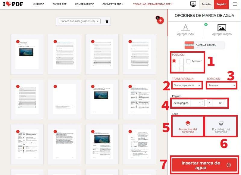 poner marca de agua en pdf gratis