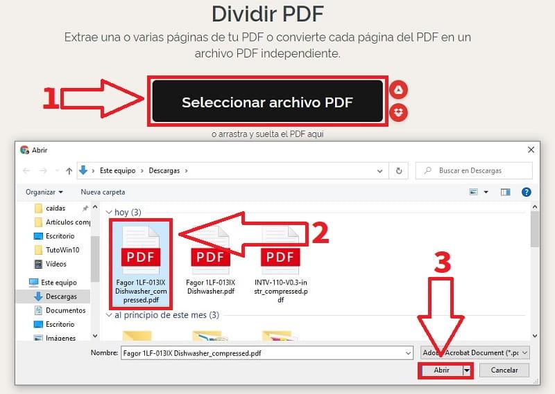 separar pdf.
