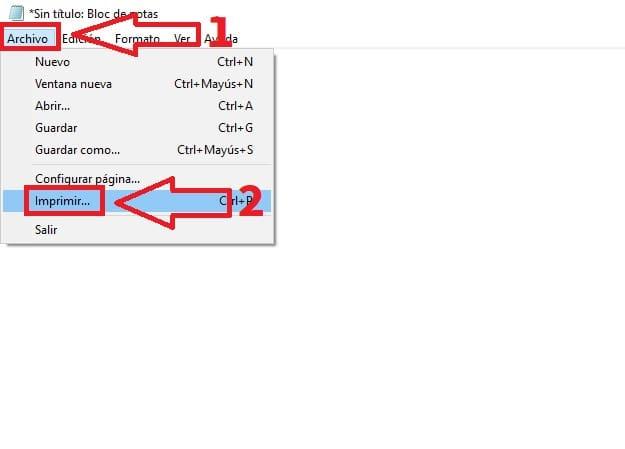 guardar documento pdf como bloc de notas.
