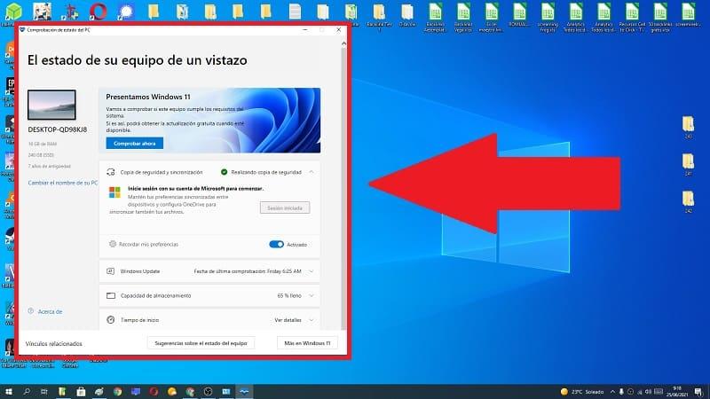 averiguar si mi ordenador es compatible con windows 11.