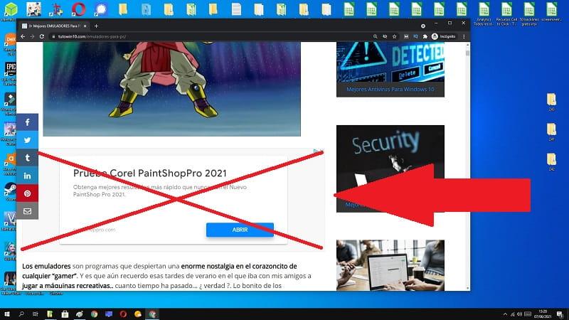 wp rocket no muestra anuncios.