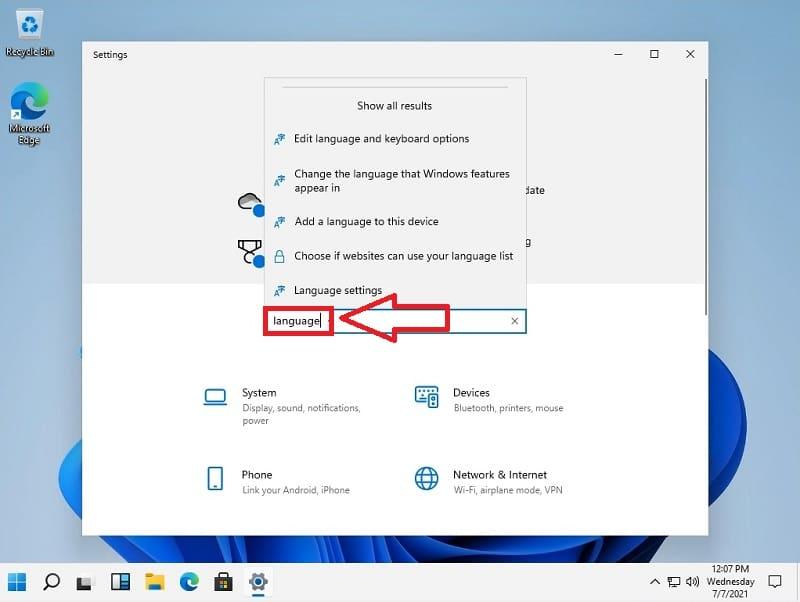 cambiar idioma de windows 11 al español.