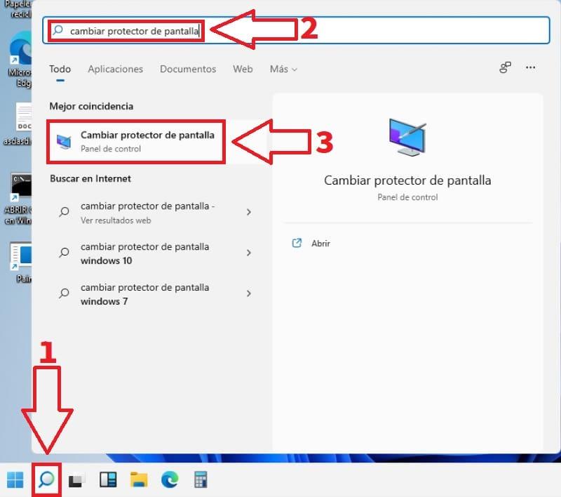 poner otro protector pantalla Windows 11.