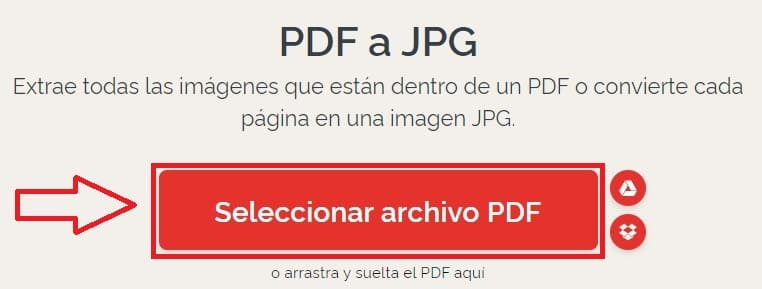 pasar de pdf a foto.