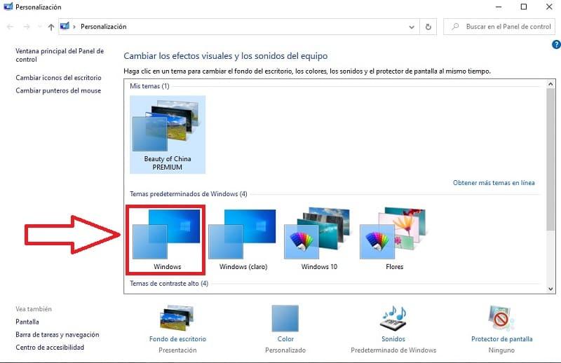 cambiar tema Windows 11.