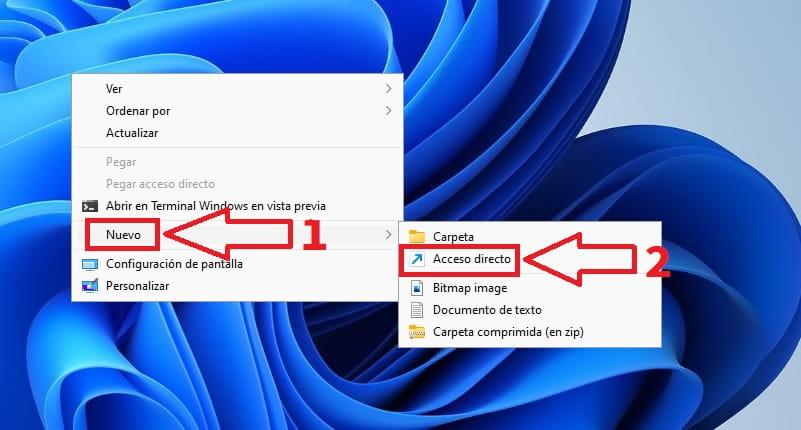 acceso rápido Windows 11.