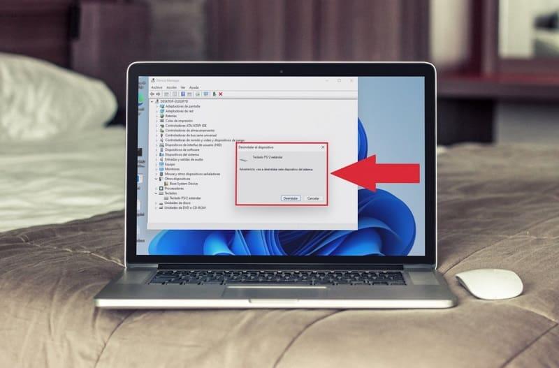 Eliminar Drivers de teclado Windows 11.