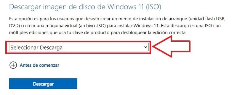 descargar Windows 11 oficial.